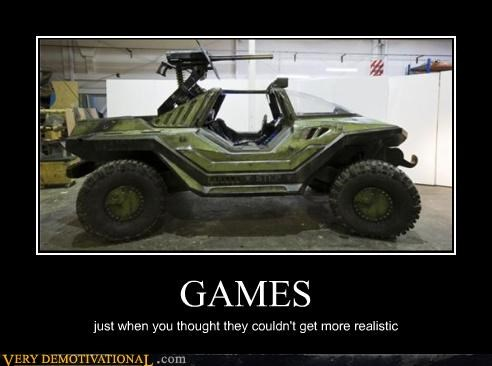 car IRL halo video games warthog - 3426059008