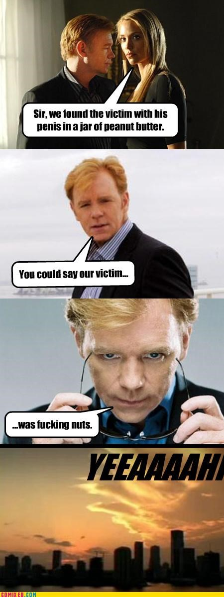 csi,Horatio,puns,the internets,yeah