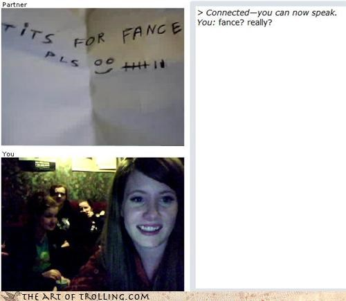 Chat Roulette,france,french,stupid