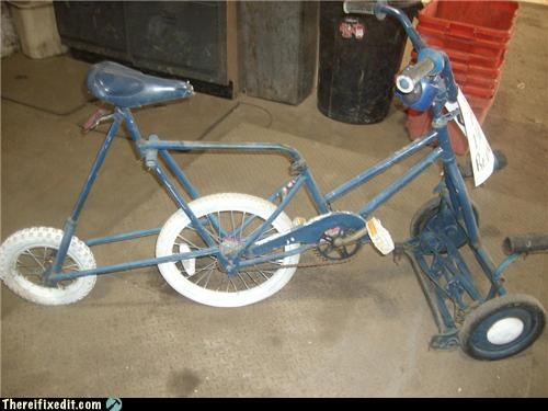bicycle lawn care lawn mower mod - 3428351488