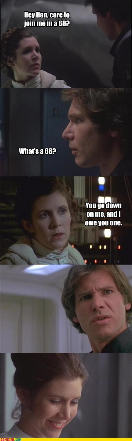 68 Han Solo leia sex jokes star wars - 3430442496
