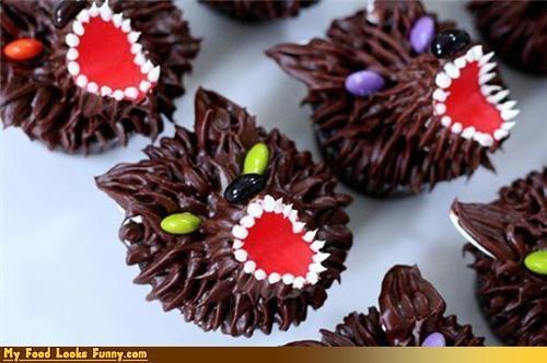 cupcake icing scary Sweet Treats wolf - 3431913984