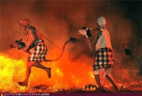 awesome,costume,fire,persia,wtf