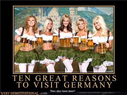Sexy Ladies beer Germany oh yeah