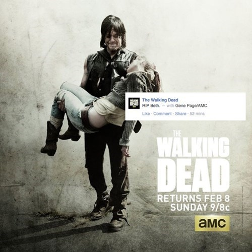 spoilers facebook The Walking Dead - 343301