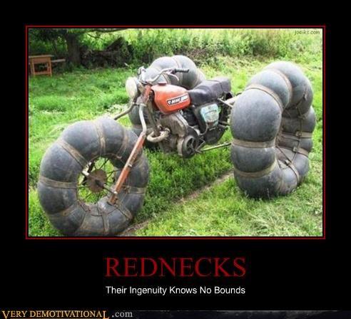 redneck motorcycle ingenuity - 3433082624