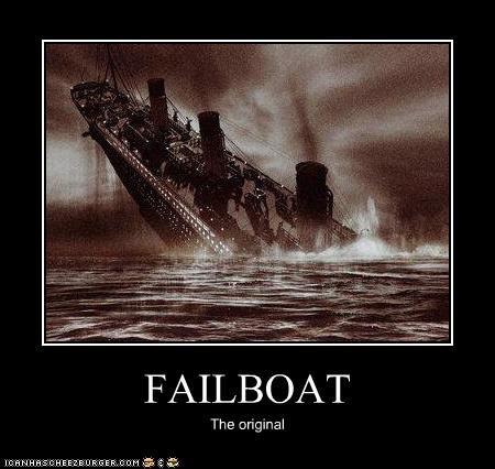 boat photograph sinking feeling titanic - 3433282560