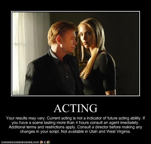 actors bad actor commercials csi david caruso elizabeth berkley