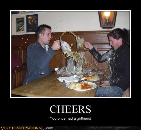 CHEERS You once had a girlfriend