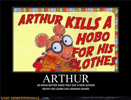 hobo wtf arthur clothes