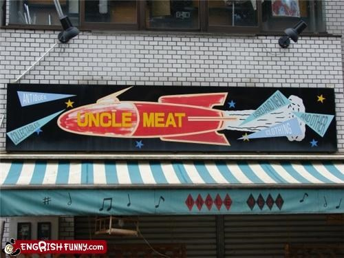 bad name meat pedo restaurant Unknown
