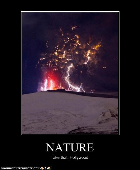 eruption Eyjafjallajökull Volcano hollywood Iceland nature volcano