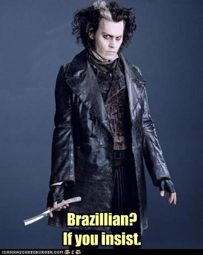 actor,Johnny Depp,movies,Sweeney Todd,waxing