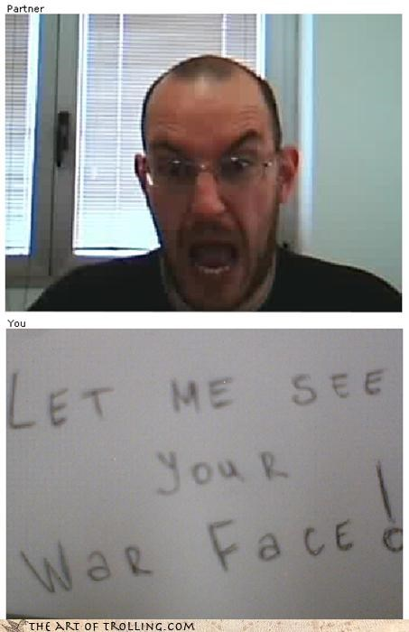 Chat Roulette full metal jacket make this face war face - 3439228672