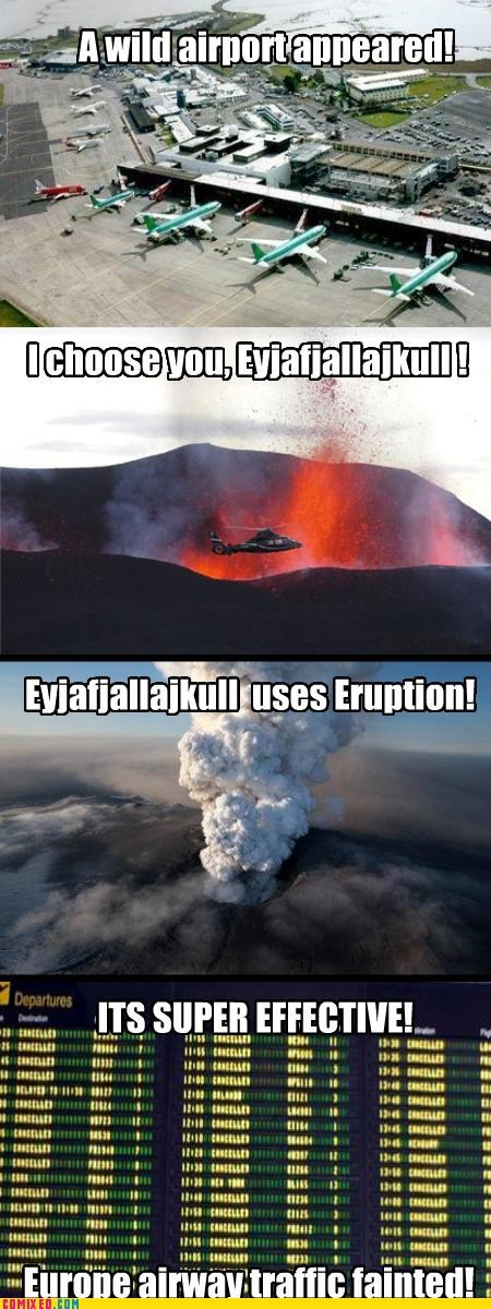effective Eyjafjallajökull Iceland IRL the internets volcano - 3439316736