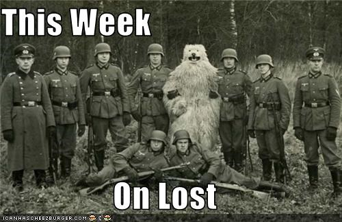 bear costume photograph WWII