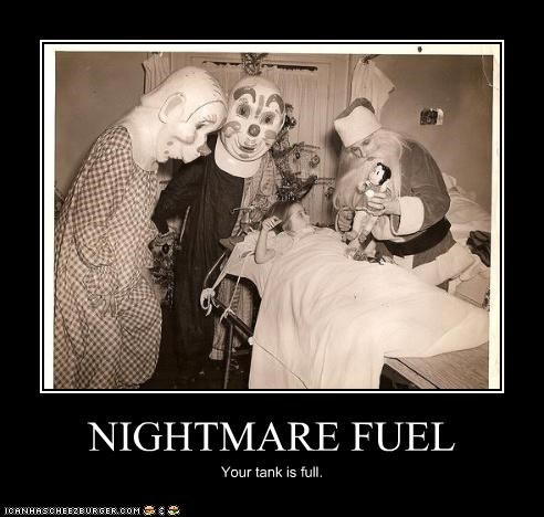 child clown hospital photograph - 3439801344