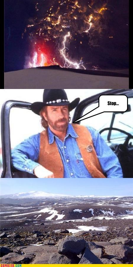 celebutard chuck norris europe solution the internets volcano - 3439963392