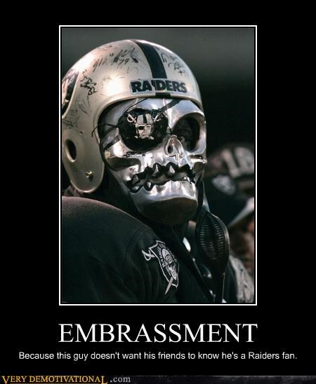disguise,wtf,raiders,football