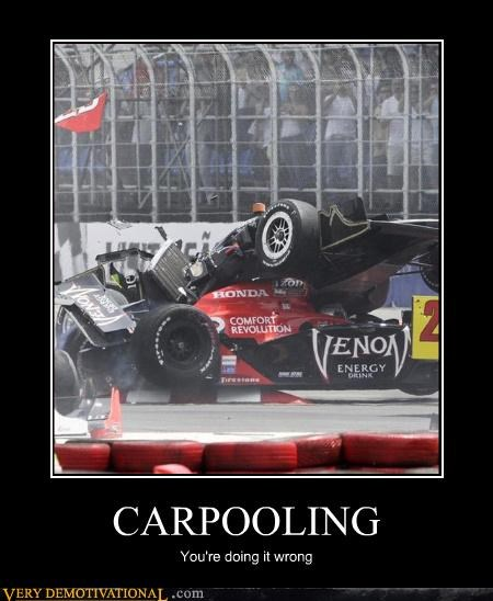 carpool doing it wrong traffic - 3440559360