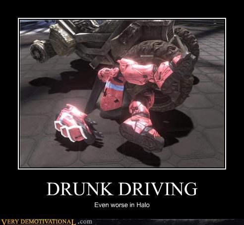 drunk driving halo video games