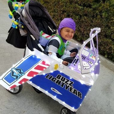 cool Halloween Costume ideas for stroller