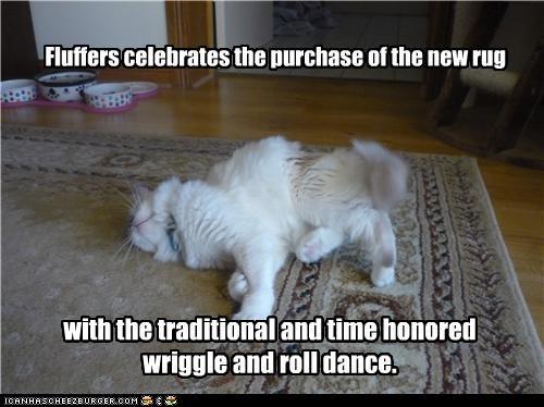 dancing happy rug - 3442812928