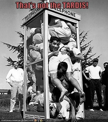 50s payphone photograph sardines squeeze - 3443273984