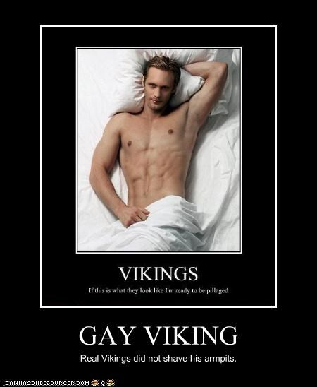 gay viking cheezburger funny memes funny pictures