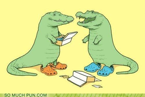 animals crocodile fashion shoes - 3448488960