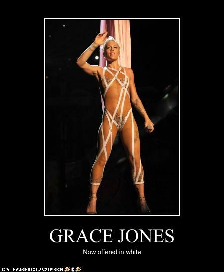GRACE JONES Now offered in white