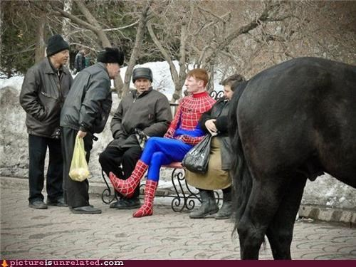 identity outdoors russia Spider-Man wtf - 3448617984