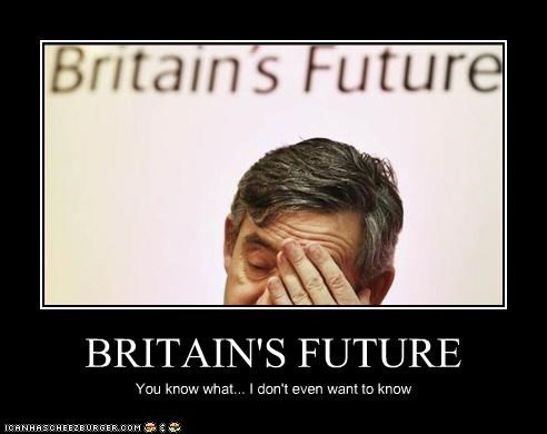 britain facepalm gordon brown prime minister the future UK - 3449707264