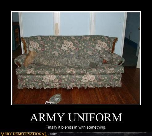 army camouflage uniform