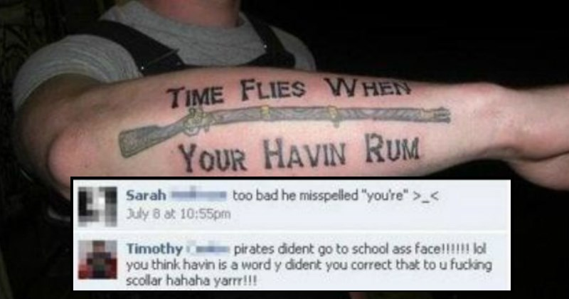 Insane Facebook FAILs From the Morons of the Internet