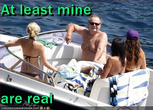 bathing suit,bewbs,fake,jack nicholson,man bewbs,moobs,plastic surgery,real