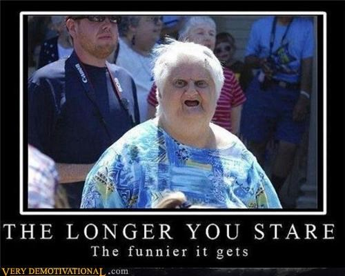 stare,long time,funny
