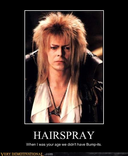 hair spray,david bowie