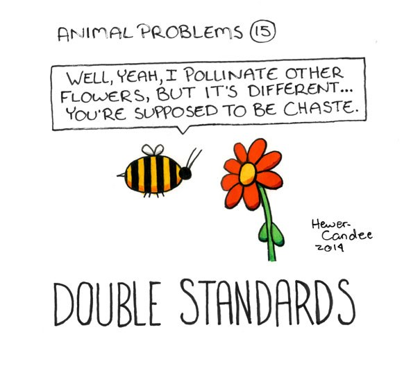 a funny comic about animal problems