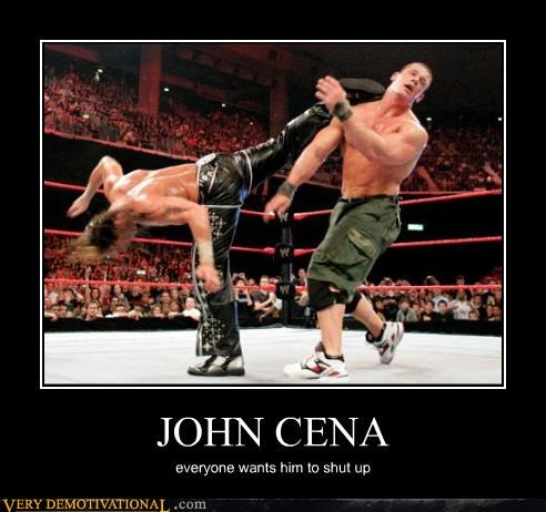 JOHN CENA everyone wants him to shut up