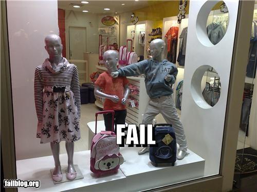 failboat kids mannequin punch - 3453364480