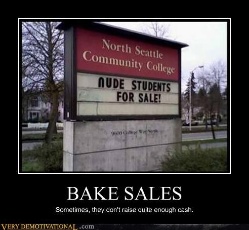 wtf,students,bake sale
