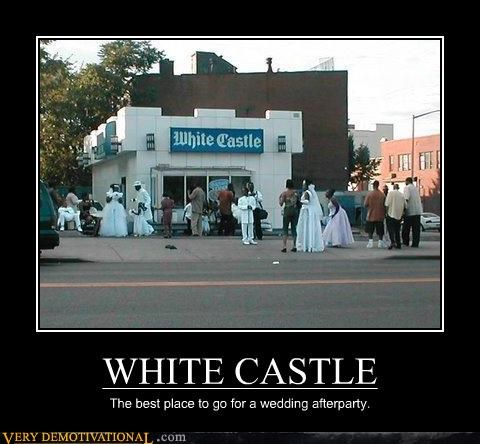 wtf wedding White Castle - 3454487296