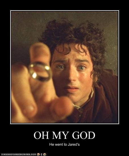 actor commercials elijah wood jewellry Lord of the Rings marriage movies sci fi - 3454529024