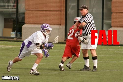 bad touch,failboat,lacrosse,ref,sports