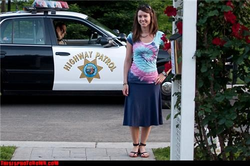 awesome cops girl greetings hi police - 3455649536
