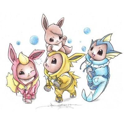 Pokémon art list onesies - 34565