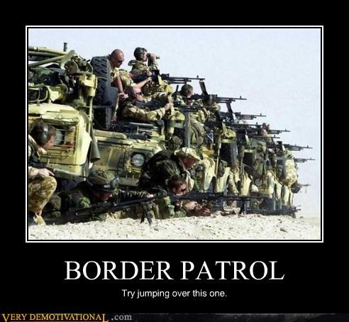 arizona borders guns hilarious immigration Mean People minute men scary - 3461615360