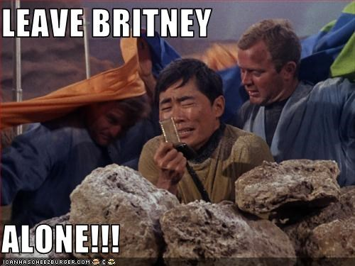 actor,britney spears,Chris Crocker,george takei,sci fi,Shatnerday,Star Trek,TV