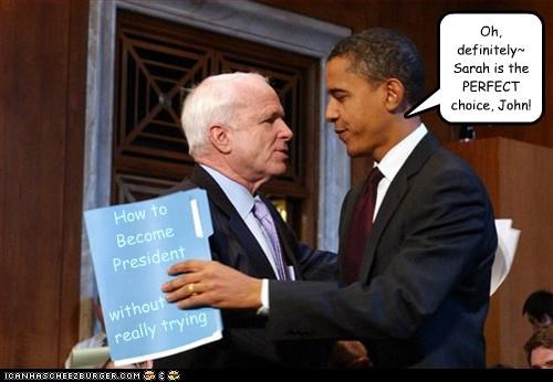 barack obama campaigns Democrat john mccain mean girls president republican sabotage Sarah Palin